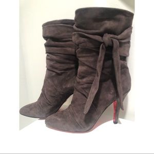 Betsey Johnson Willa Boots in Grey